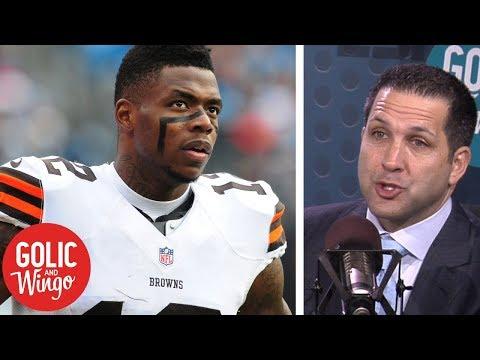 Adam Schefter: Browns parting ways with Josh Gordon a 'culture change'   Golic & Wingo   ESPN