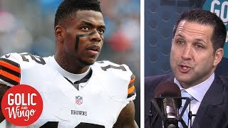 Adam Schefter: Browns parting ways with Josh Gordon a 'culture change' | Golic & Wingo | ESPN