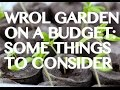 Survival Garden on a budget -- can you feed your family in a crunch?
