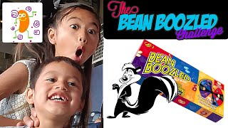 Bre and L.j Bean Boozled Challenge