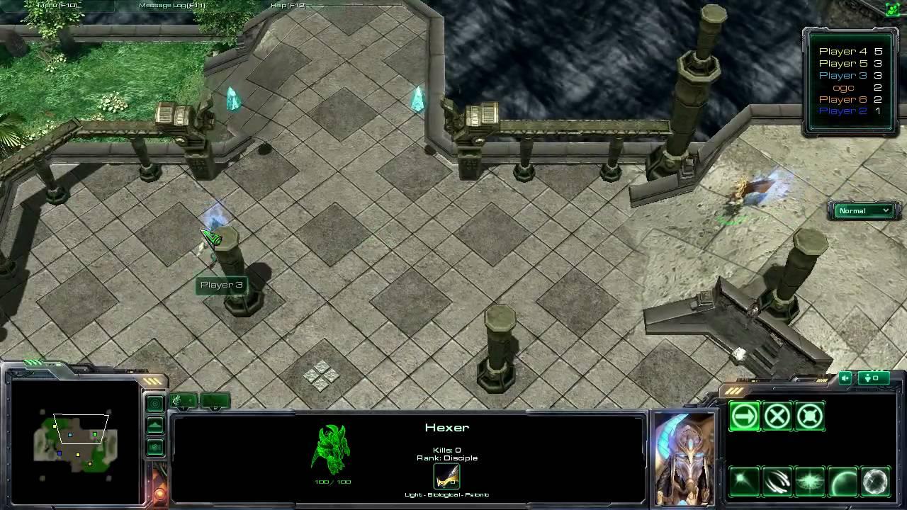 Starcraft 2 Mod Hex D Epic Game Ala Diablo 3 Best Of