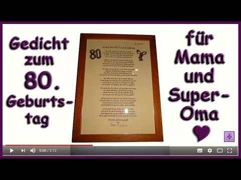 Reime zum 50 geburtstag mama