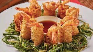 美食台 | 炸蝦不需裹粉,一樣外脆裡嫩!