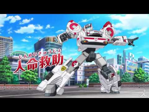 Tomica Hyper Rescue Drive Head: Kidou Kyuukyuu Keisatsu (Temporada 1)