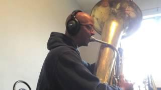 Texas All State Band Tuba Etude 1 2015