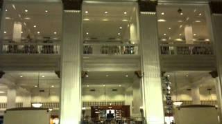 Wanamaker Organ, Philadelphia, June 2011