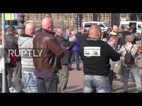Germany: PEGIDA rallies in Dresden to mark second anniversary of foundation