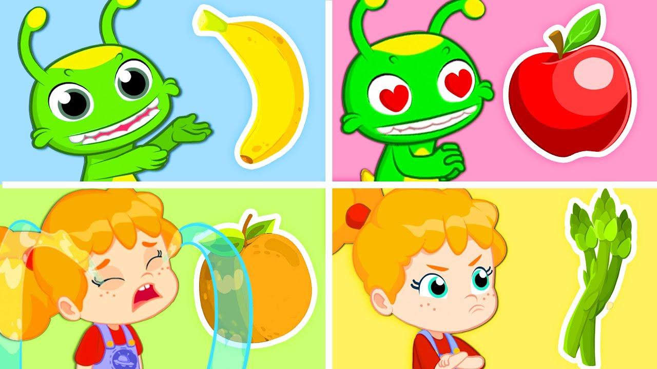 ¡Nuevo episodio! Groovy el Marciano | ¡Helados de colores del arcoiris con frutas y verduras!