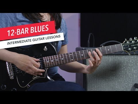 How to Play Guitar: Popular Chord Progressions | 12-Bar Blues | Intermediate | Guitar Lessons