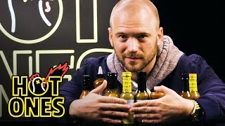 Sean Evans Reveals the Season 7 Hot Sauce Lineup | Hot Ones