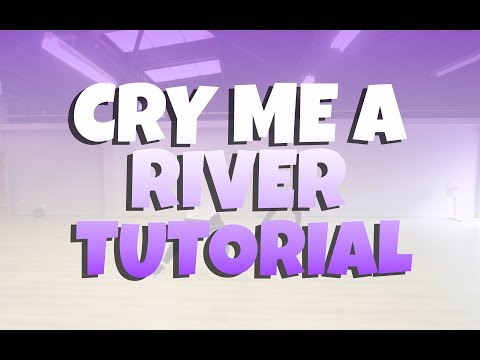 CRY ME A RIVER DANCE TUTORIAL  JUSTIN TIMBERLAKE  CHRIS PARRY