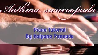 Aathma swaroopuda naa yesayya song on piano