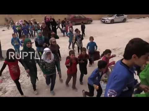 Syria: Classes resume at newly opened school in eastern Aleppo