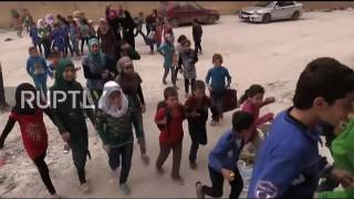 Syria  Classes resume at newly opened school in eastern Aleppo