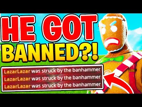LAZARBEAM GOT BANNED MID GAME In Fortnite!!   Spot The Difference W/ Lazarbeam & Vikkstar123