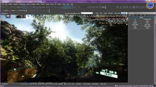 Скачать CryEngine Sandbox 3 Tutorial 1 Grundlagen Terrain Insel Texturen Deutsch German