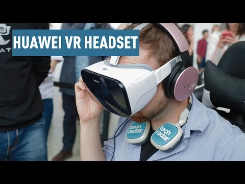 Huawei VR headset hands on review at China's P9 launch event