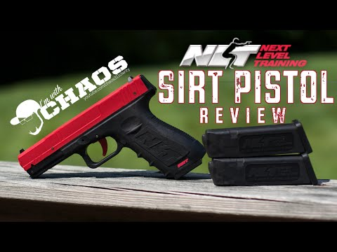 Next Level Training SIRT Pistol Review - Shoot Your Friends!