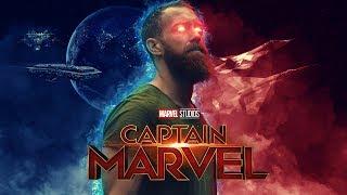 Captain Marvel Poster Photoshop