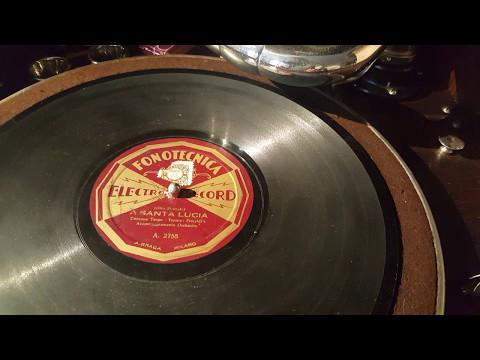 fioraldi's - a santa lucia - 78 rpm