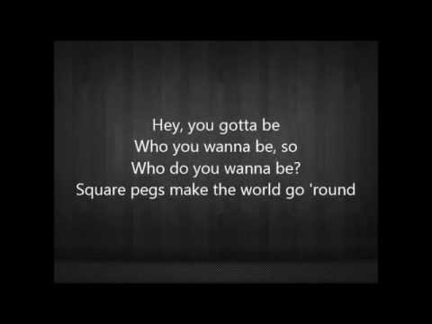 Kelsea Ballerini - Square Pegs lyrics (Acoustic)