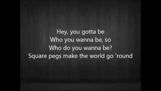Kelsea Ballerini - Square Pegs lyrics (Acoustic)