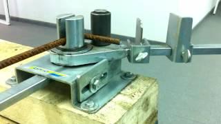 видео Станок для гибки арматуры ALBA DR-25 и DR-32