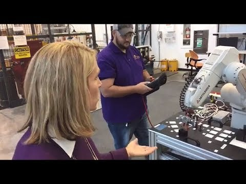 ECU Facebook Live tour of the College of Engineering and Technology!
