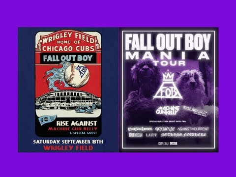 Fall Out Boy|Buying MANIA Tour Tickets