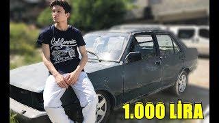 1000 LİRAYA ARABA ALDIM! (GERÇEK)