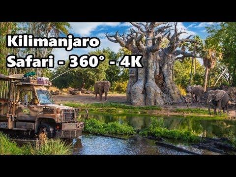 360° 4K - Kilimanjaro Safari | Full Ride | Disney's Animal Kingdom