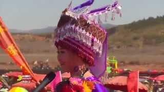 3HMONGTV: LAAJ TSAWB, Hmong Singer from China, Performed at Hmong Int'l Hauvtoj Festival