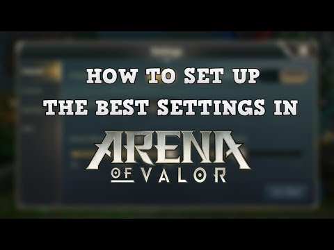 Arena of Valor Tutorial - Controls and Interface Set Up