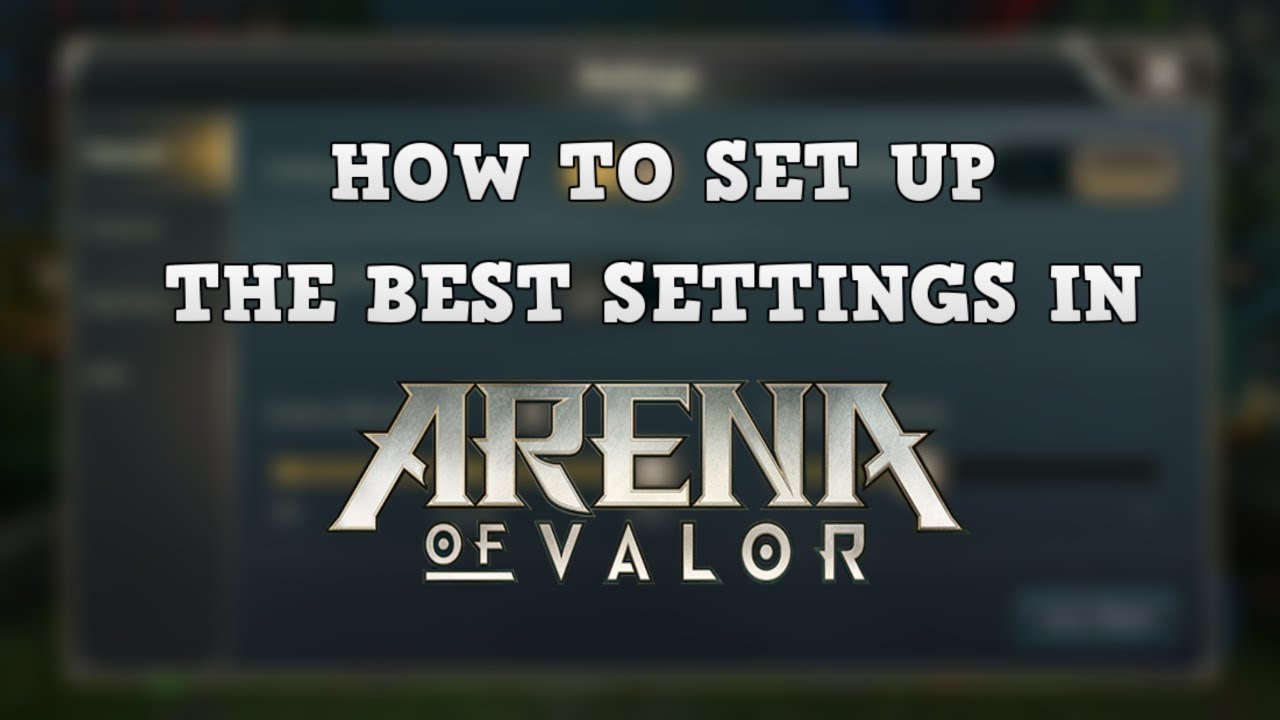 Arena Of Valor Tutorial Controls And Interface Set Up