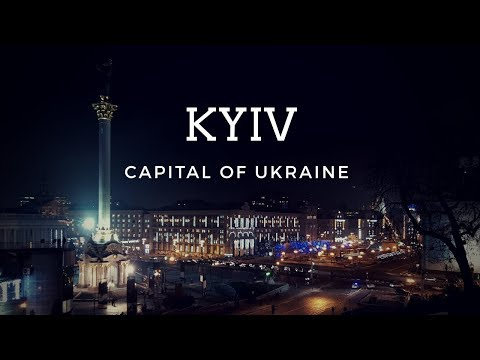 The city of Kyiv. Trip in Ukraine | Travel video