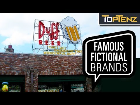 Top Ten Fictional Brands From Movies And TV