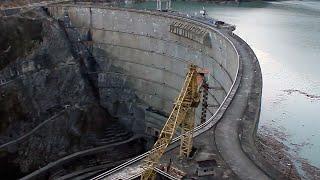 Khudoni-Staudamm Projekt in Georgien