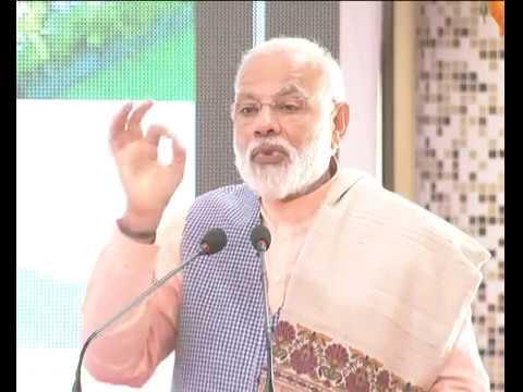 PM's Speech: flags
