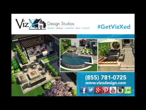 Outdoor Living Design Tip - Establish a Sense of Discovery - VizX Design Studios - (855) 781-0725