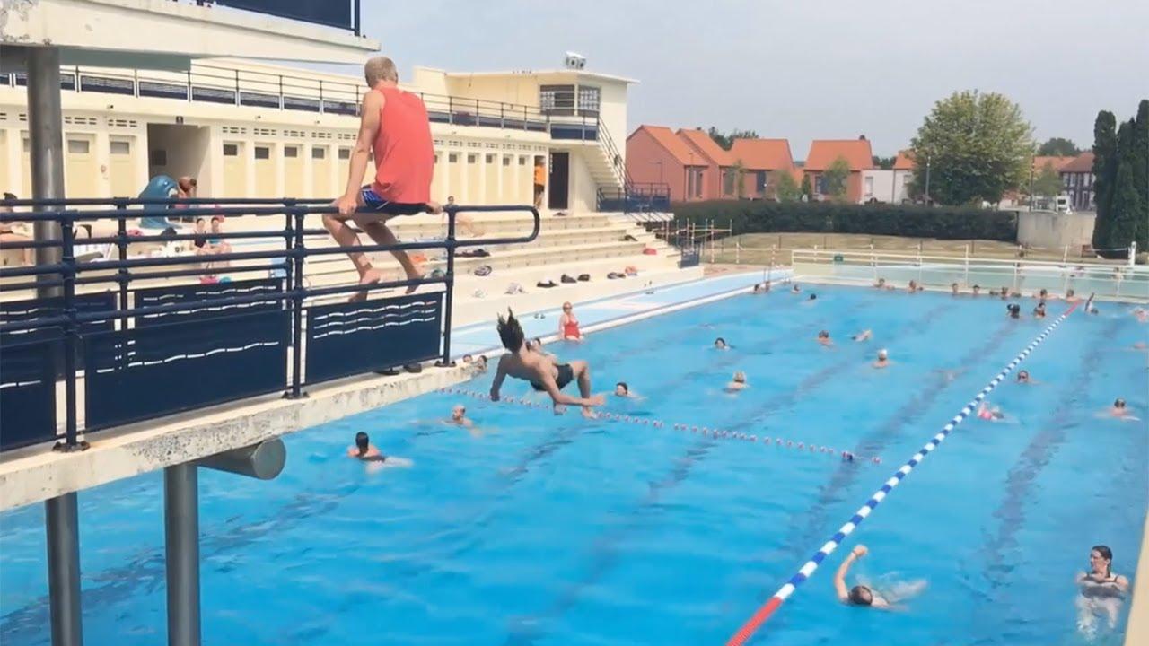 Canicule  plonge dans la seule piscine extrieure Art dco de France  BruaylaBuissire