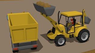 Excavator and Truck | Construction Vehicles For Children | Bajki Maszyny Budowlane dla Dzieci