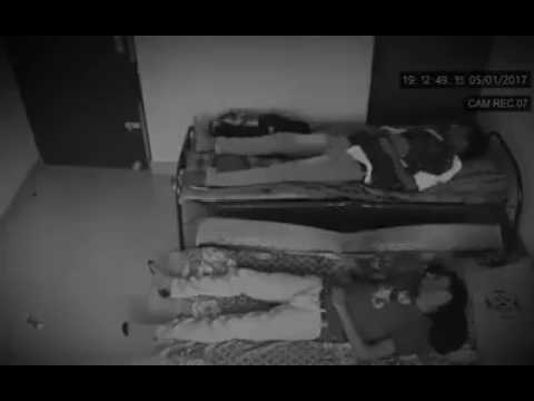 Ghost Act Capture in CCTV Camera in Civil Hospital, Junagadh