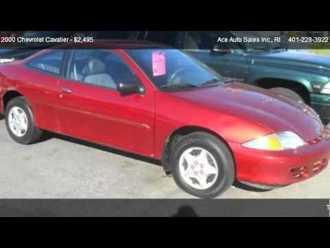 Ace Auto Sales >> Chevrolet Cavalier Base Ace Auto Sales Inc Ace Auto