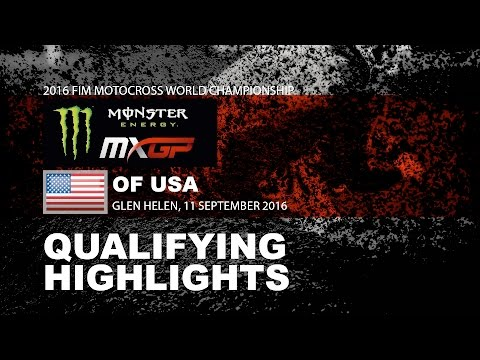 Qualifying Race Highlights MXGP motocross video