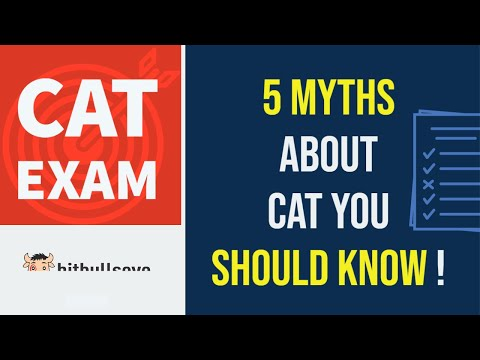 5 Myths about CAT you should know