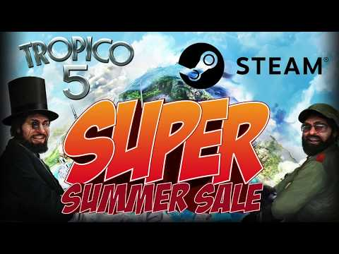 Tropico 5 is on a CRAZY SALE! |