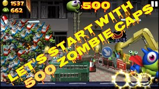Cheat Zombie Tsunami: Let's Start With 500 Insane Crazy Magnificent Zombie Caps