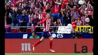 Atletico 2-2 Eibar (2017/18) Audio Onda Madrid