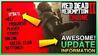FINALLY A Red Dead Redemption 2 Online Update - RDR2 Online Beta Update - Red Dead Online Update