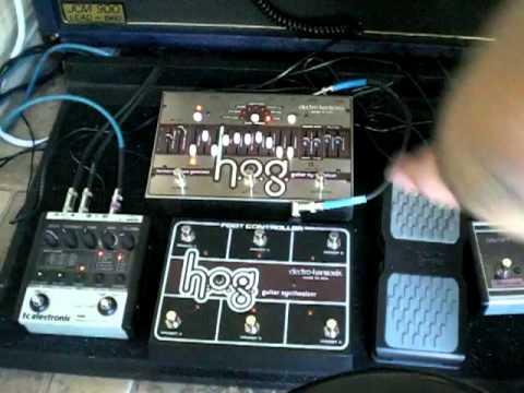 Electro Harmonix HOG Demonstration